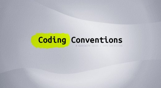 Coding Conventions Featured Image.