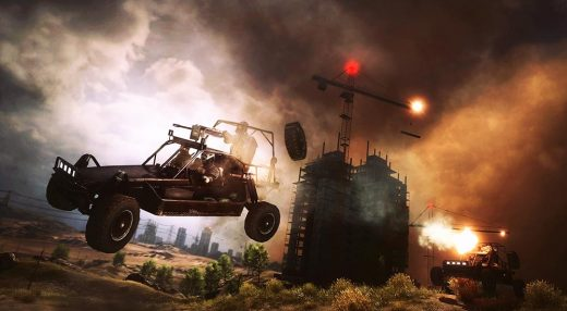 Battlefield 4 Buggy Chase