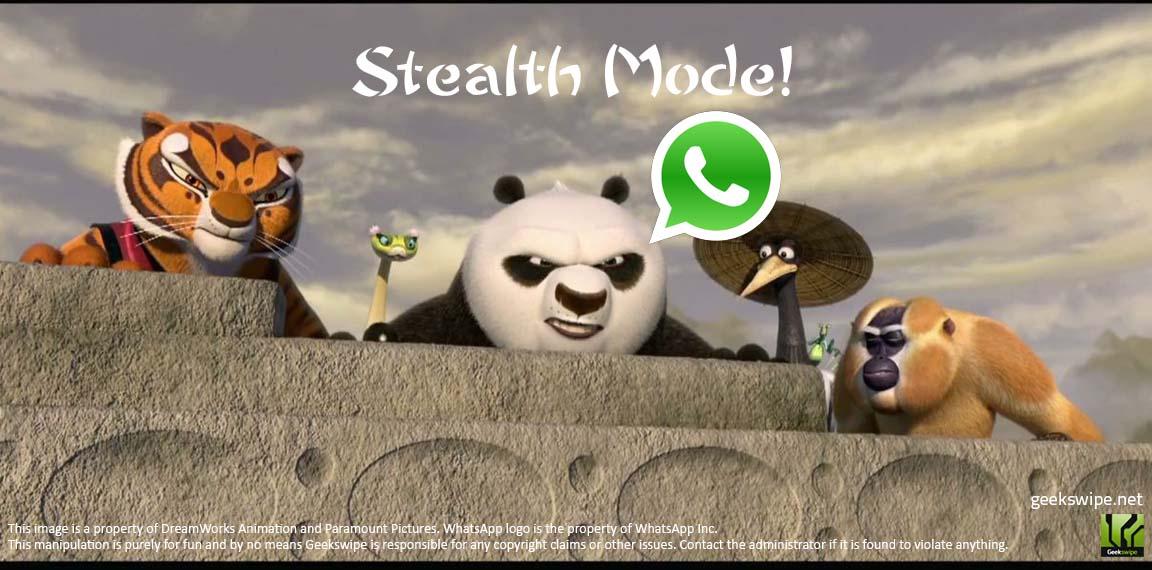 WhatsApp Stealth Mode