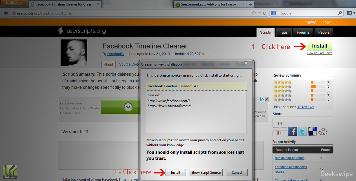 How To Delete All Your Facebook Activity - Geekswipe
