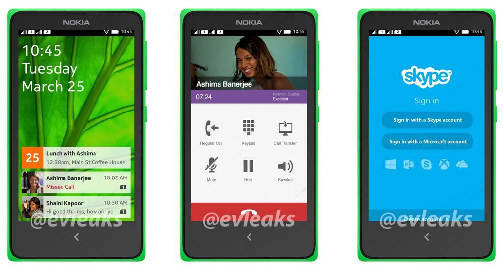Nokia Android UI