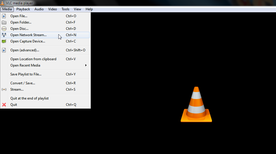 Geekswipe VLC Volume Network Stream