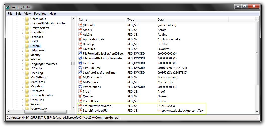 Geekswipe_How to replace bing search in microsoft word_regedit_screenshot_2