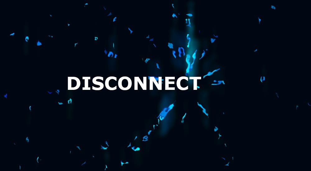 Disconnect from the internet