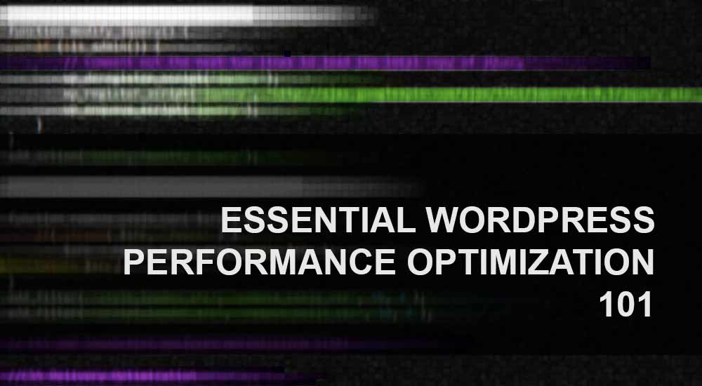 Essential WordPress Performance Optimization - 101 - Geekswipe