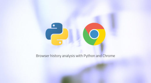 Analyze Chrome's browsing history with Python