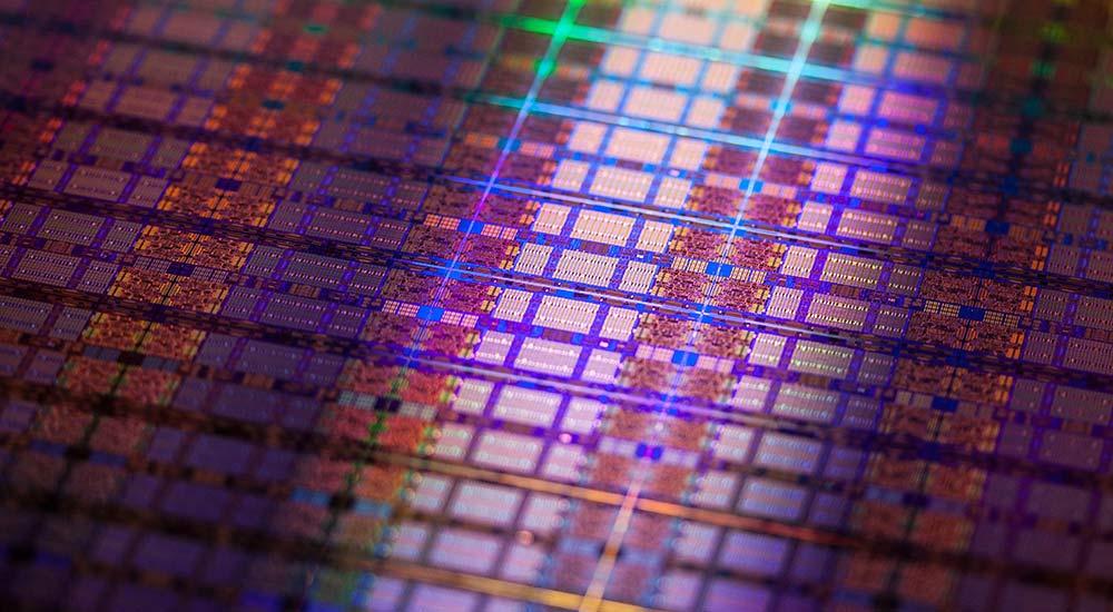Processor die - Intel