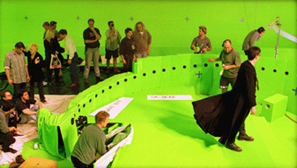 Bullet time behind the scene pic