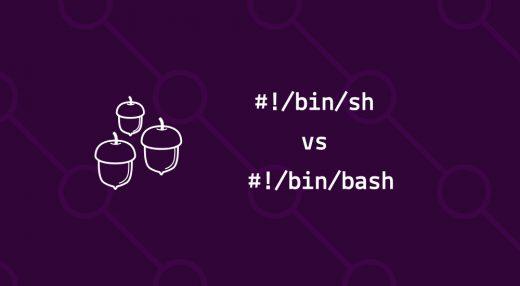 bin/bash v bin/sh in a nutshell.